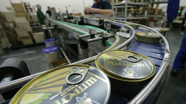 Производство консервов из шпрот в Калининградской области