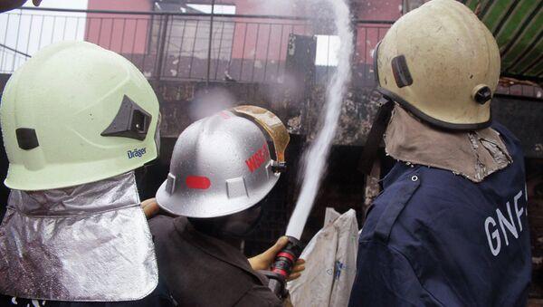 Пожарные в Гане. Архивное фото