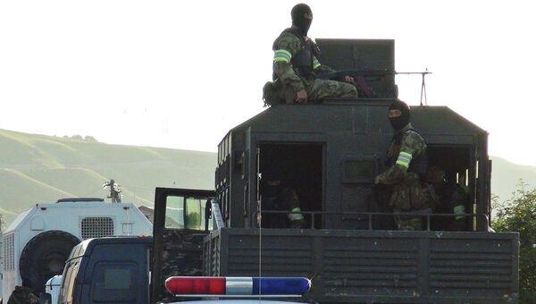 Контртеррористическая операция в Баксанском районе Кабардино-Балкарии
