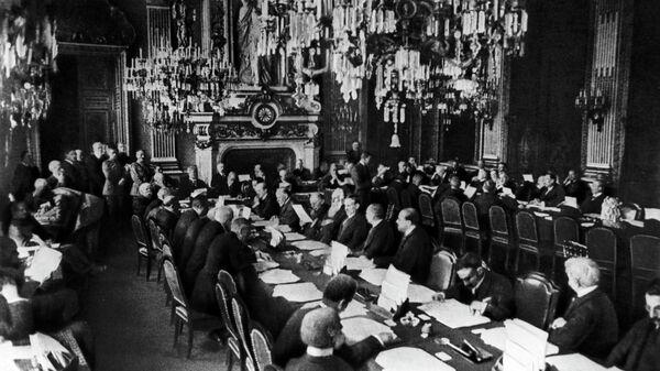 Открытие Парижской мирной конференции 18 января 1919 года