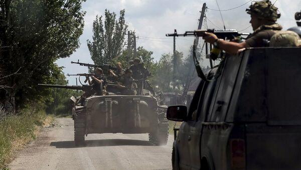 ВСУ стягивают танки к линии фронта в Марьинке