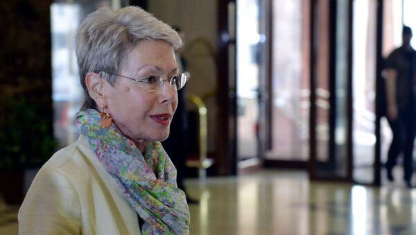 Спецпредставитель председателя ОБСЕ в контактной группе по урегулированию ситуации на Украине Хайди Тальявини. Архивное фото