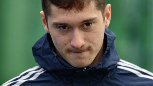 Игрок сборной России Алексей Миранчук. Архивное фото