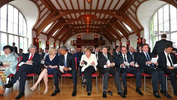 Первый день саммита Большой семерки в Эльмау, Германия