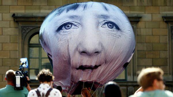 Акция протеста против саммита G7 в Мюнхене. Июнь 2015. Архивное фото