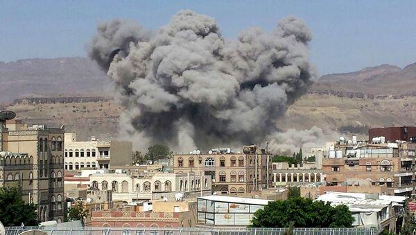 Взрыв в городе Сана, Йемен. Архивное фото