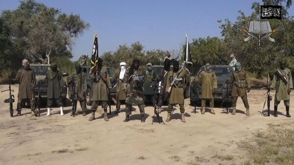 Члены исламистской группировки Боко Харам. Архивное фото