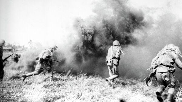 Бой в Белоруссии. 1941 год. Великая Отечественная война 1941-1945 годов