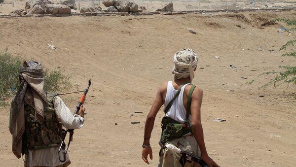 Йеменские боевики сепаратистского движения в порт Аден. Архивное фото