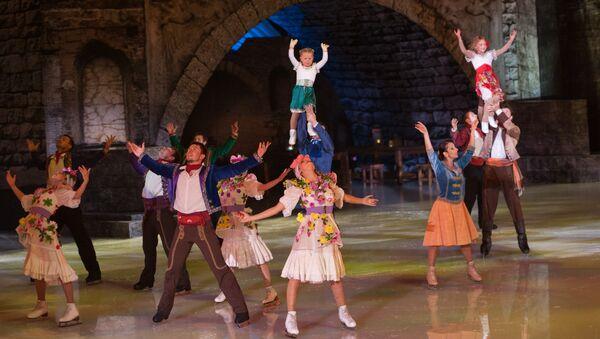 Премьера ледового мюзикла Кармен в Сочи