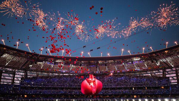 Церемония открытия I Европейских игр. Архивное фото