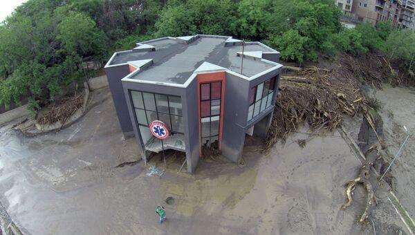 Последствия наводнения в Тбилиси, 14 июня 2015