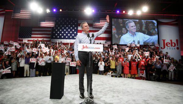 Джеб Буш выдвинул свою кандидатуру на пост президента США