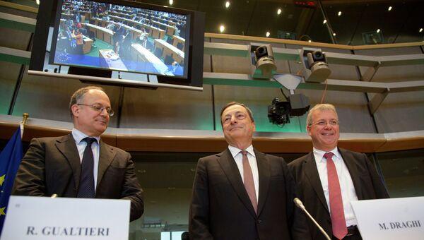 Председатель Европейского центрального банка Марио Драги. Архивное фото