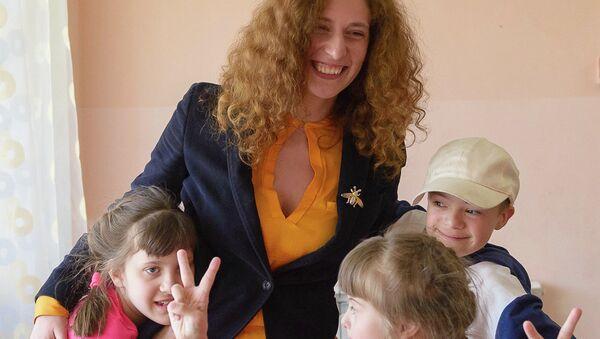 Марина Диченко, доброволец БФ Волонтеры в помощь детям-сиротам