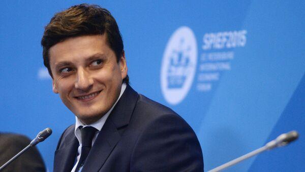 Заместитель министра энергетики РФ Антон Инюцын. Архивное фото