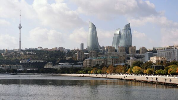 Столица Азербайджана Баку. Архивное фото