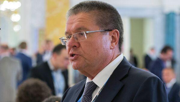 Министр экономического развития РФ Алексей Улюкаев. Архивное фото.
