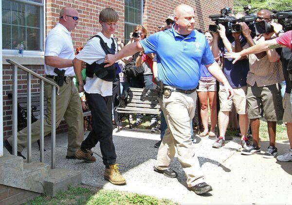 21-летний Дилан Руф подозреваемый в массовом убийстве в африканской методистской епископальной церкви Эмануэль города Чарлстон, США
