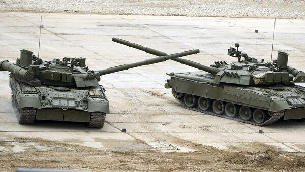 Танки Т-72Б3. Архивное фото