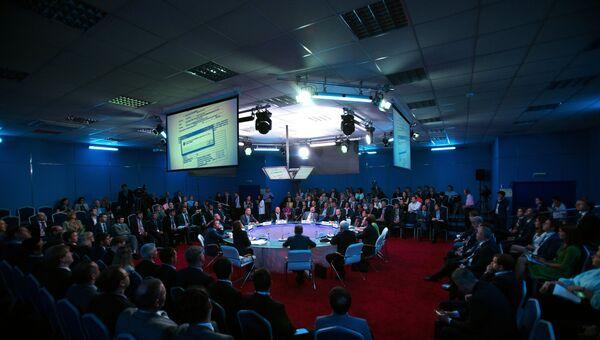 Панельная сессия Доступ разрешен: участие субъектов малого и среднего предпринимательства в закупках инфраструктурных монополий и компаний с государственным участием в рамках ПМЭФ 2015