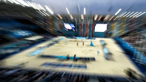 Турнир по пляжному волейболу на Играх в Баку