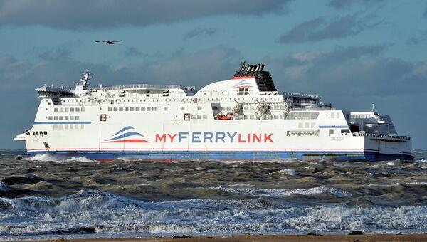 Паром французской судоходной компании Myferrylink. Архивное фото