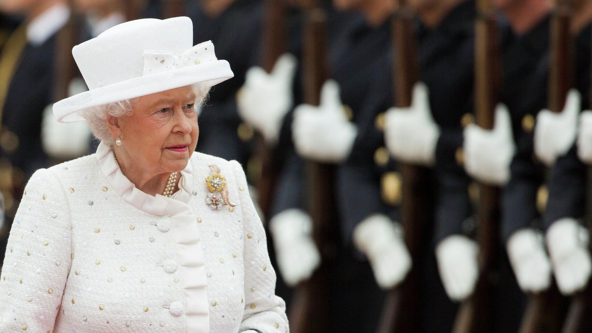 Королева Великобритании Елизавета II во время официального визита в Германию - РИА Новости, 1920, 06.02.2021