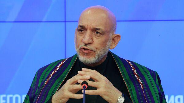 Бывший президент Исламской республики Афганистан (в 2004-2014 гг.) Хамид Карзай