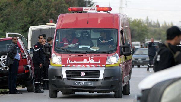 Карета скорой помощи в Тунисе. Архивное фото