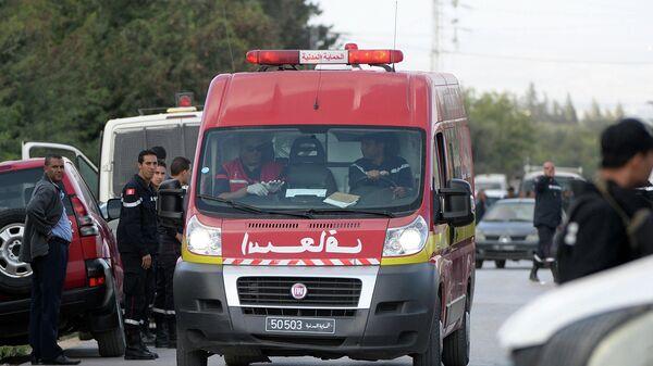 Карета скорой помощи в Тунисе