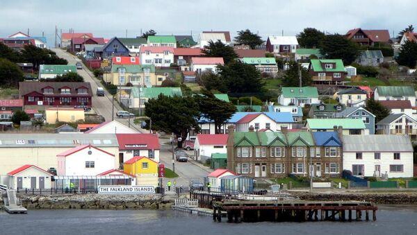 Вид на Фолклендские острова. Архивное фото