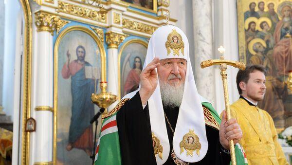 Патриарх Кирилл принял участие в мероприятиях, посвященных 74-й годовщине начала Великой Отечественной войны
