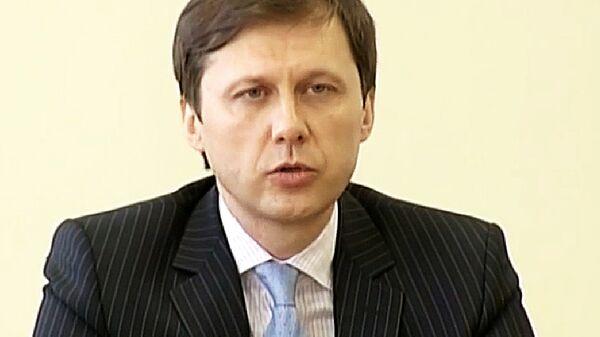 Министр экологии и природных ресурсов Украины Игорь Шевченко. Архивное фото