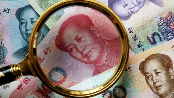 Рубли и юани. Архивное фото
