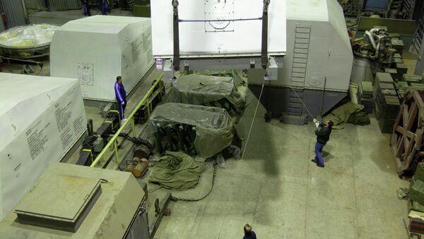 Ракетный двигатель РД-180 на НПО Энергомаш
