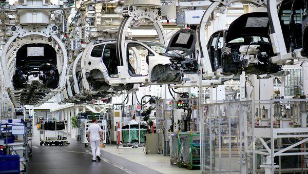 Завод по сборке автомобилей Фольксваген. Архивное фото