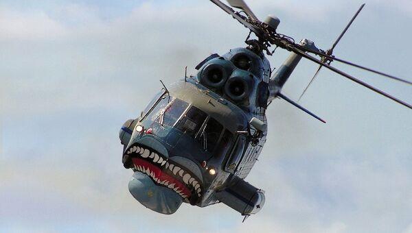 Вертолет-амфибия Ми-14ПС. Архивное фото