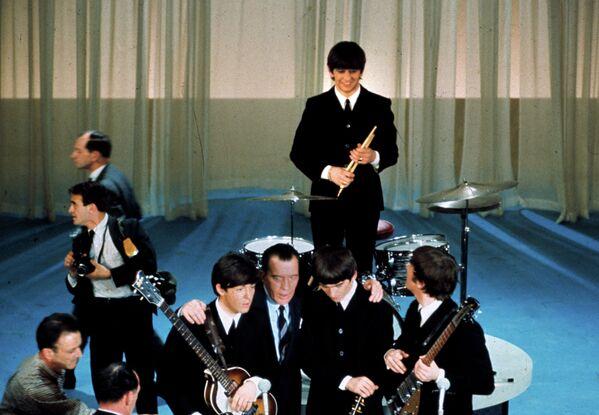 The Beatles на шоу у Эда Салливана