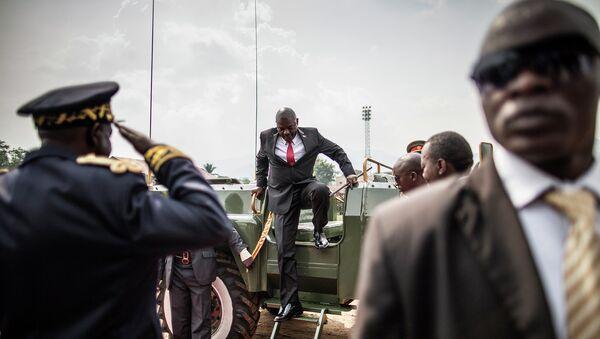 Президент Бурунди Пьер Нкурунзиза. Архивное фото