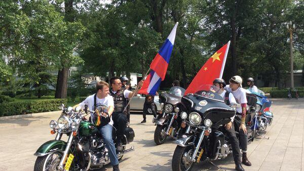 Мотопробег Пекин - Байкал