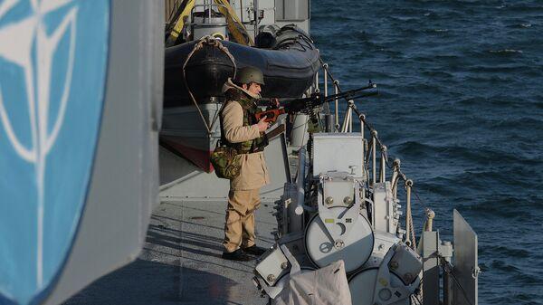Учения НАТО в Черном море