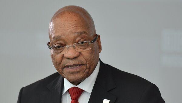 Президент Южно-Африканской Республики Джейкоб Зума, архивное фото