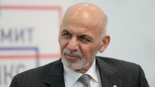 Президент Исламской Республики Афганистан Ашраф Гани Ахмадзай