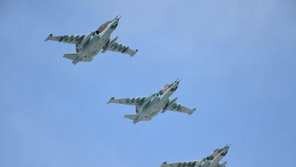 Штурмовики Су-25СМ. Архивное фото