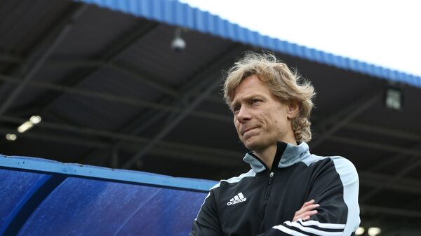 Главный тренер Торпедо (Армавир) Валерий Карпин. Архивное фото