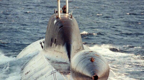 Атомная подводная лодка проекта 971 Щука-Б. Архивное фото