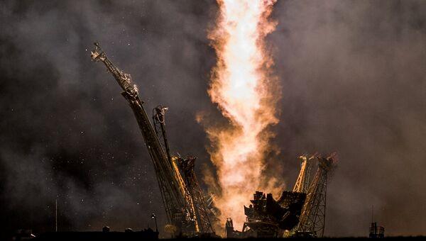Старт ракеты. Архивное фото