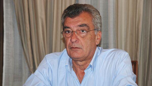 Глава администрации острова Лесбос Спирос Галинос