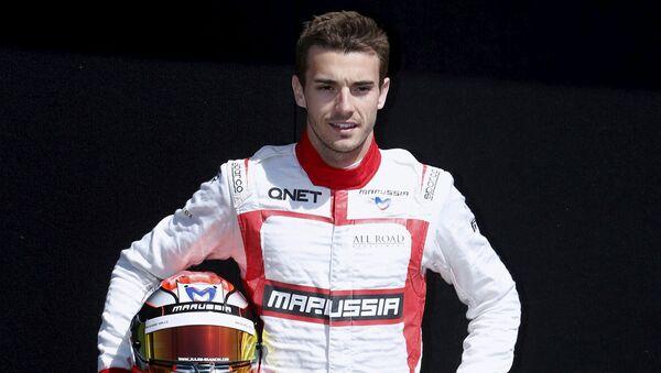 Французский автогонщик Формулы-1 Жюль Бьянки